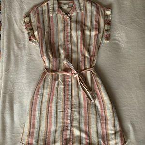 Harper Heritage Striped Tie Dress